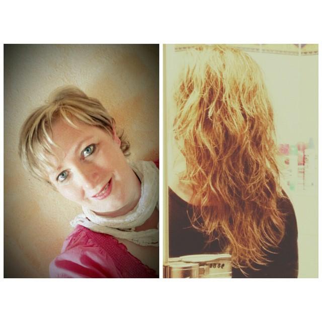 Nach 14 Monaten Haarezüchten. Stand 16.10Begonnen habe ich August 2013