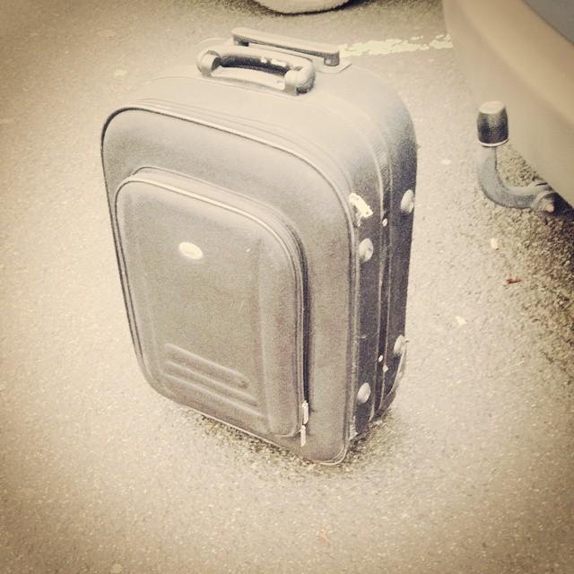 3 Tage Klassenfahrt Den Koffer  habe ich mit Mann zusammen für 3 Tage